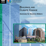 builidngs and climate change