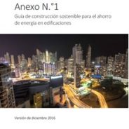 Guía de construcción sostenible para el ahorro de energía en edificaciones de Panamá